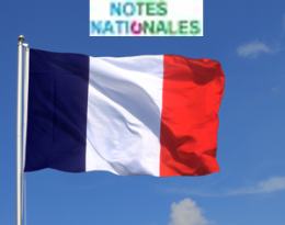Les notes communes / nationales