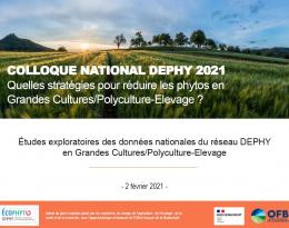 Eudes exploratoires colloque DEPHY GCPE